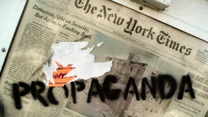 Image result for New York Times propaganda