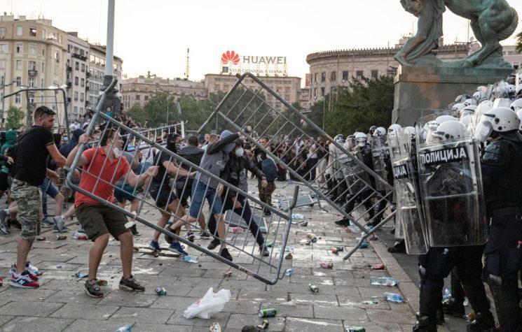 Serbia Protest Explosion – President Vučić Caught Between ...